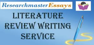 Literature Review Writing Services..