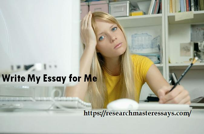Write essays for me